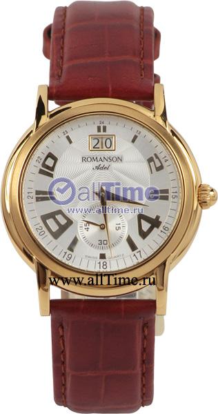 Мужские часы Romanson TL3587BMG(WH)
