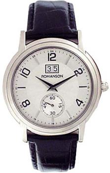 Мужские часы Romanson TL3587SMW(WH)