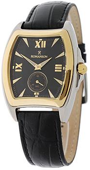 Мужские часы Romanson TL3598SMC(BK)