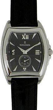 Мужские часы Romanson TL3598SMW(BK)