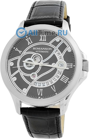 Мужские часы Romanson TL4215RMW(BK)BK