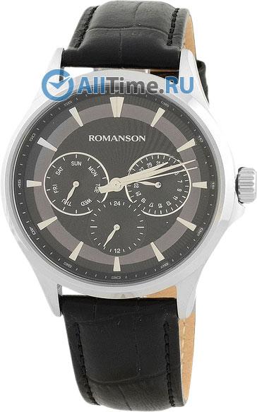 Мужские часы Romanson TL4222FMW(BK)