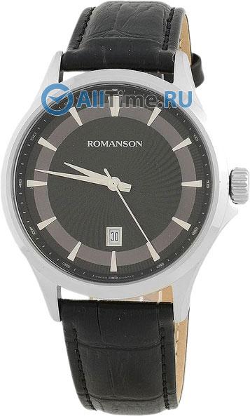 Мужские часы Romanson TL4222MW(BK)