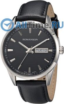 Мужские часы Romanson TL4241MW(BK)
