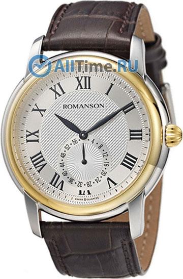 Мужские часы Romanson TL4255JMC(WH)