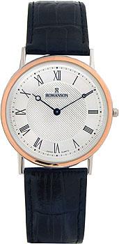 Мужские часы Romanson TL5110SMJ(WH)