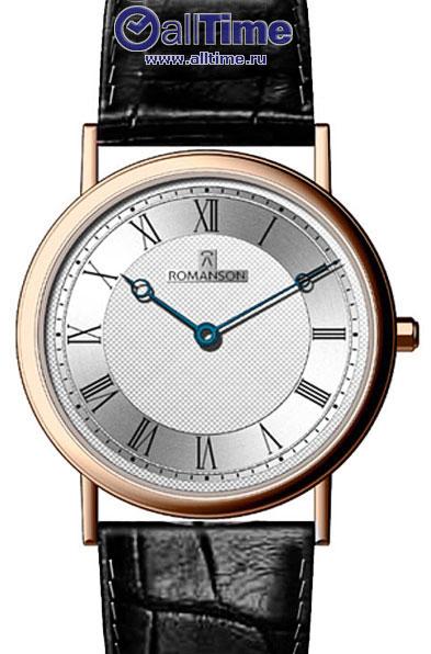 Мужские часы Romanson TL5110SMR(WH)
