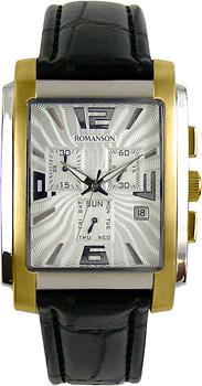 Мужские часы Romanson TL5140HMC(WH)