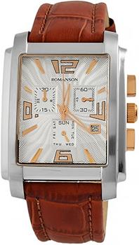Мужские часы Romanson TL5140HMJ(WH)