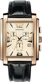 Мужские часы Romanson TL5140HMR(RG)