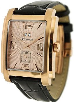 Мужские часы Romanson TL5140SMR(RG)