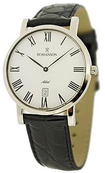 Мужские часы Romanson TL5507SMC(WH)