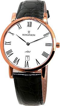 Мужские часы Romanson TL5507SMR(WH)