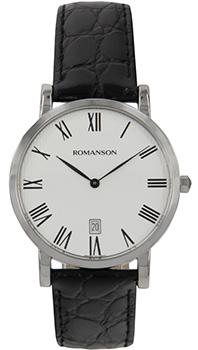 Мужские часы Romanson TL5507SMW(WH)
