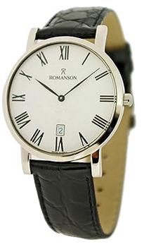 Мужские часы Romanson TL5507XW(WH)