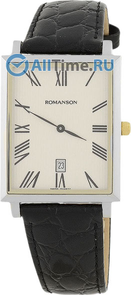 Мужские часы Romanson TL6522CMC(WH)