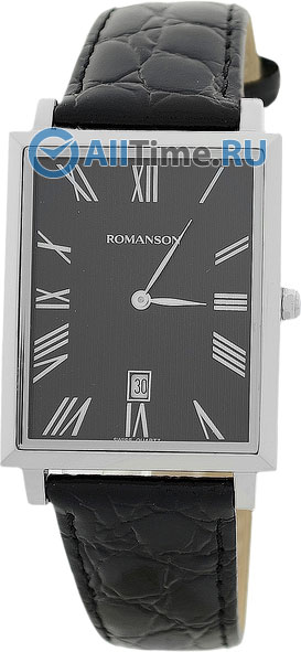 Мужские часы Romanson TL6522CMW(BK)