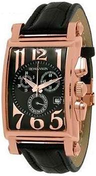 Мужские часы Romanson TL6599HMR(BK)
