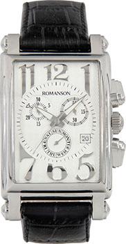 Мужские часы Romanson TL6599HMW(WH)
