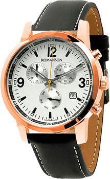 Мужские часы Romanson TL7235HMR(WH)