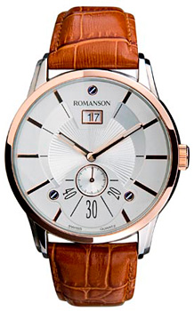 Мужские часы Romanson TL7264SMJ(WH)