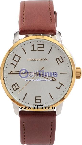 Мужские часы Romanson TL8250BMC(WH)