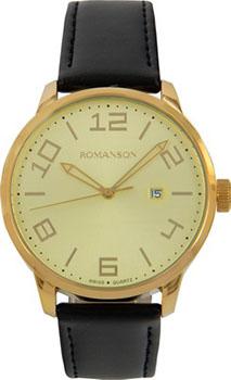 Мужские часы Romanson TL8250BMG(GD)