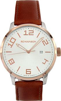 Мужские часы Romanson TL8250BMJ(WH)