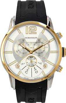 Мужские часы Romanson TL9213HMC(WH)