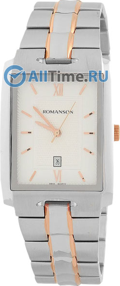 Мужские часы Romanson TM0186CXJ(WH)