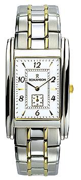 Мужские часы Romanson TM0224BXC(WH)
