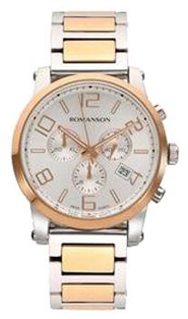 Мужские часы Romanson TM0334HMJ(WH)