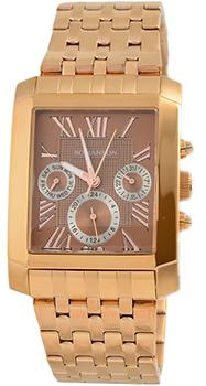 Мужские часы Romanson TM0342BMR(BROWN)