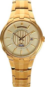 Мужские часы Romanson TM0344MG(GD)