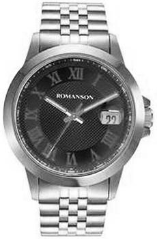 Мужские часы Romanson TM0361MW(BK)