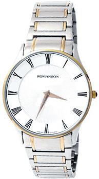 Мужские часы Romanson TM0389MC(WH)