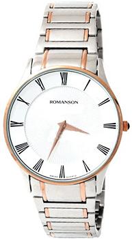 Мужские часы Romanson TM0389MJ(WH)