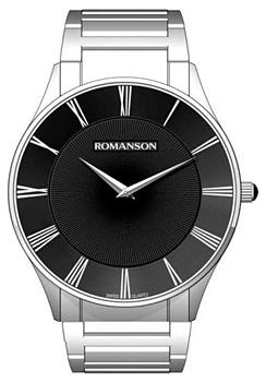 Мужские часы Romanson TM0389MW(BK)