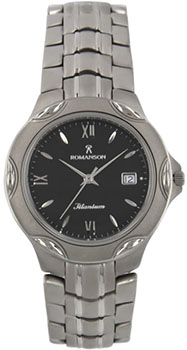Мужские часы Romanson TM0591MW(BK)