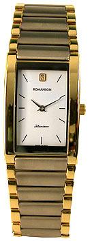 Мужские часы Romanson TM1196XC(WH)