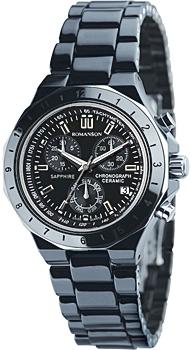 Мужские часы Romanson TM1231HMB(BK)