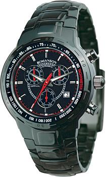 Мужские часы Romanson TM1235HMB(BK)