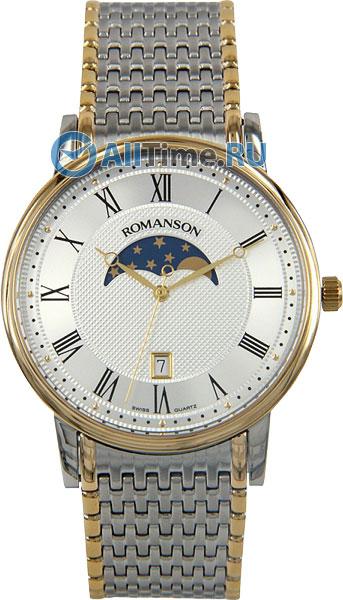 Мужские часы Romanson TM1274FMC(WH)