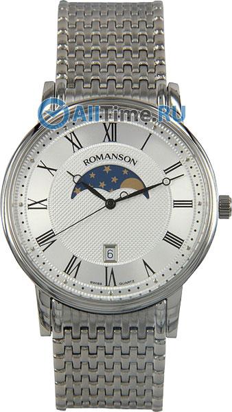 Мужские часы Romanson TM1274FMW(WH)