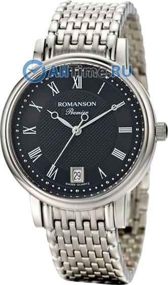 Мужские часы Romanson TM1274LW(BK)