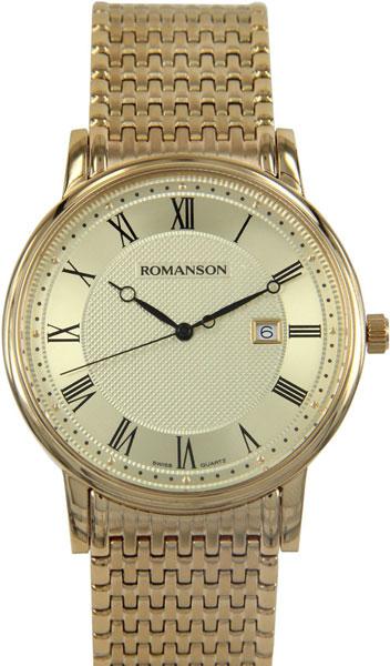 Мужские часы Romanson TM1274MG(GD)