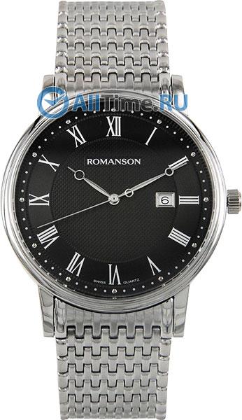 Мужские часы Romanson TM1274MW(BK)