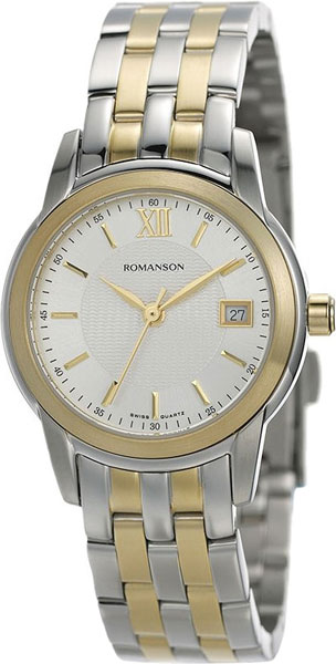 Женские часы Romanson TM2649LC(WH)