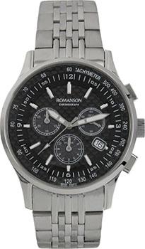 Мужские часы Romanson TM4131PMW(BK)