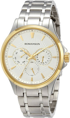 Мужские часы Romanson TM4222FMC(WH)